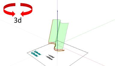 3D-Mathematics - 3D Model - Surface - sinus cylinder